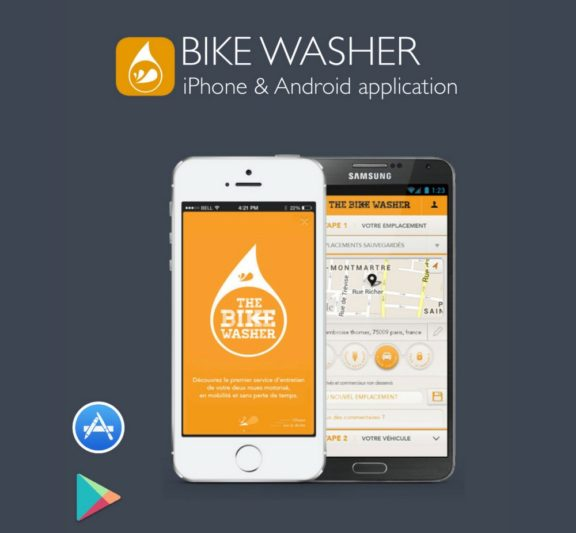 The Bike Washer