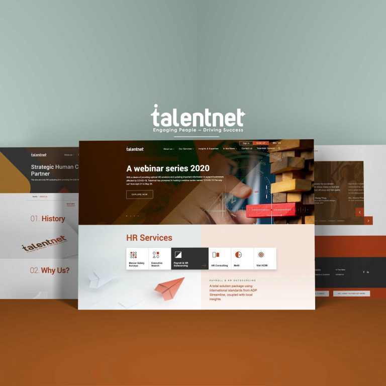 Talentnet – Content Marketing System
